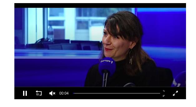Interview sur Europe 1 mardi 7 janvier