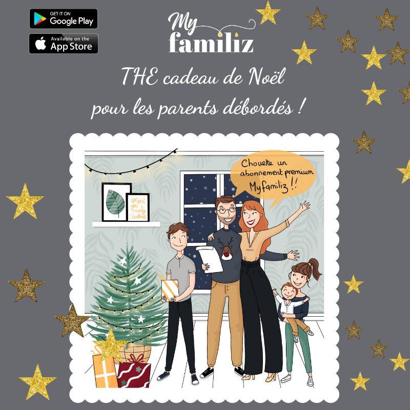 Un super cadeau de Noël pour les parents débordés !
