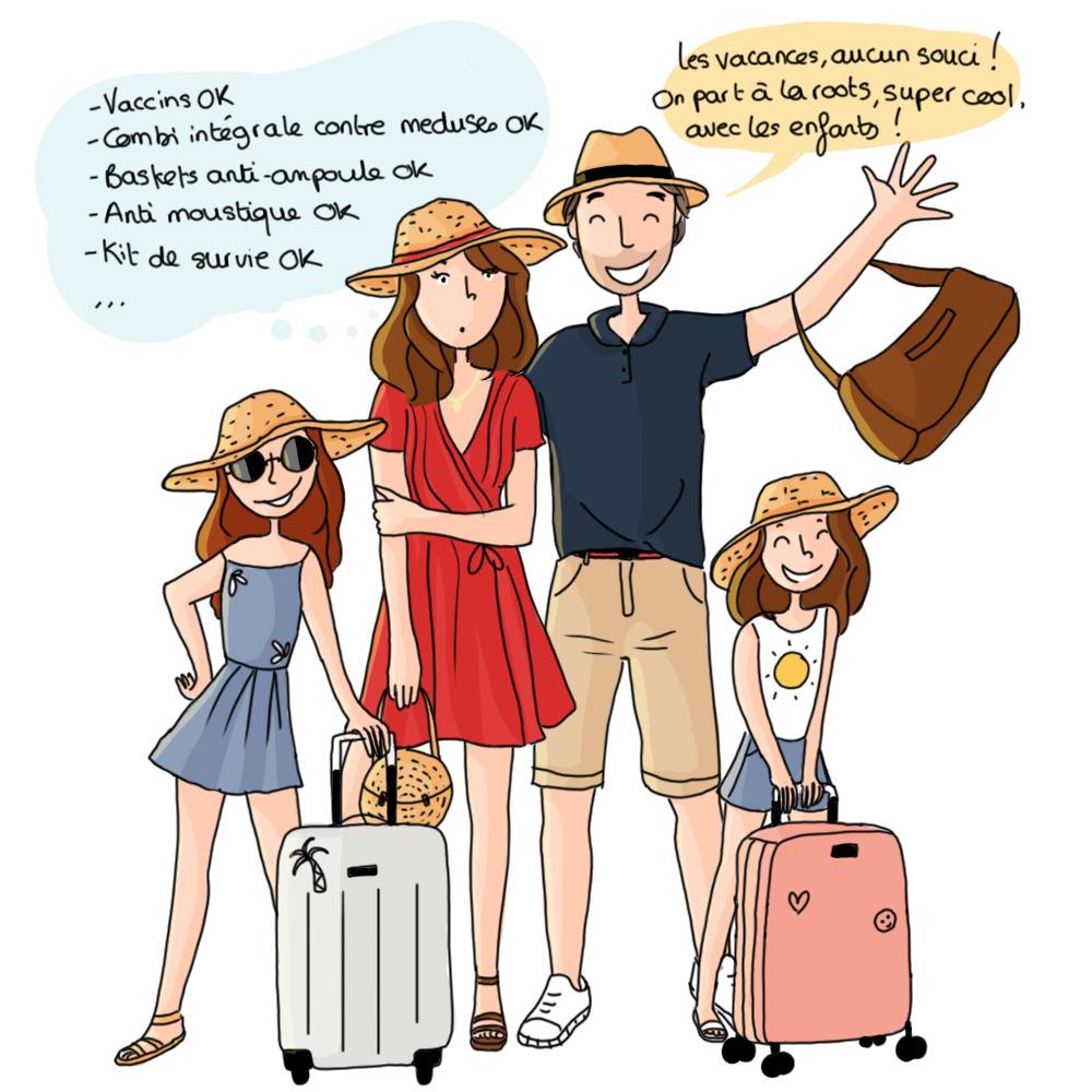 La charge mentale prend t-elle des vacances ?